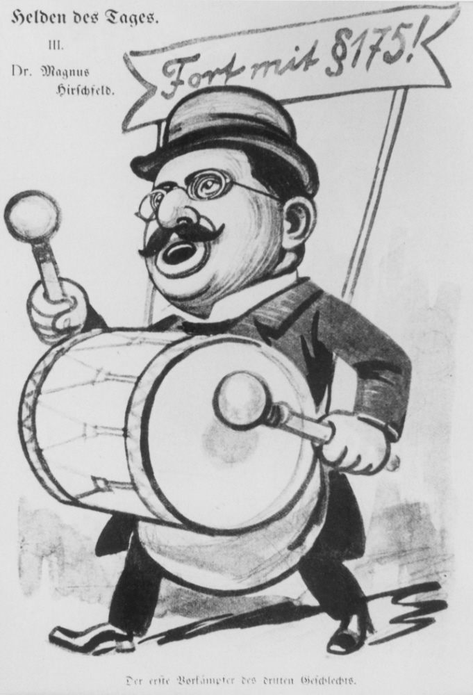 Magnus Hirschfeld Cartoon — Media — United States Holocaust
