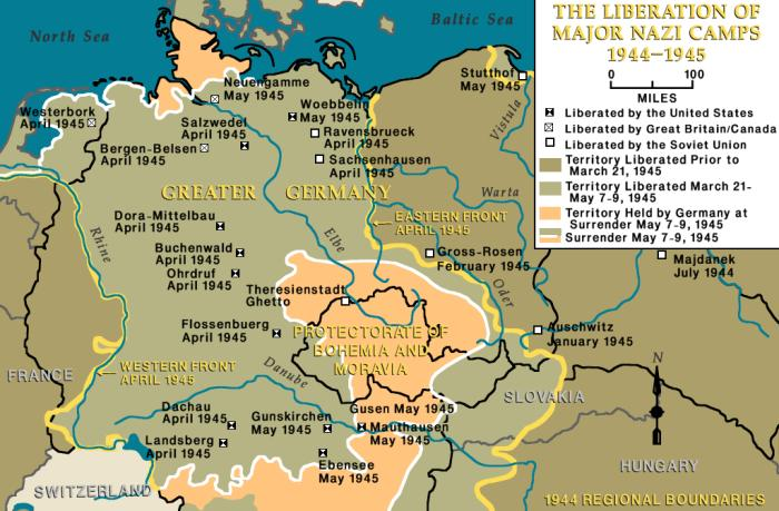 The Liberation of Major Nazi Camps, 1944-1945