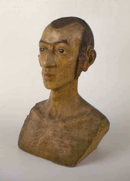 Model of a Head of a Jewish Youth