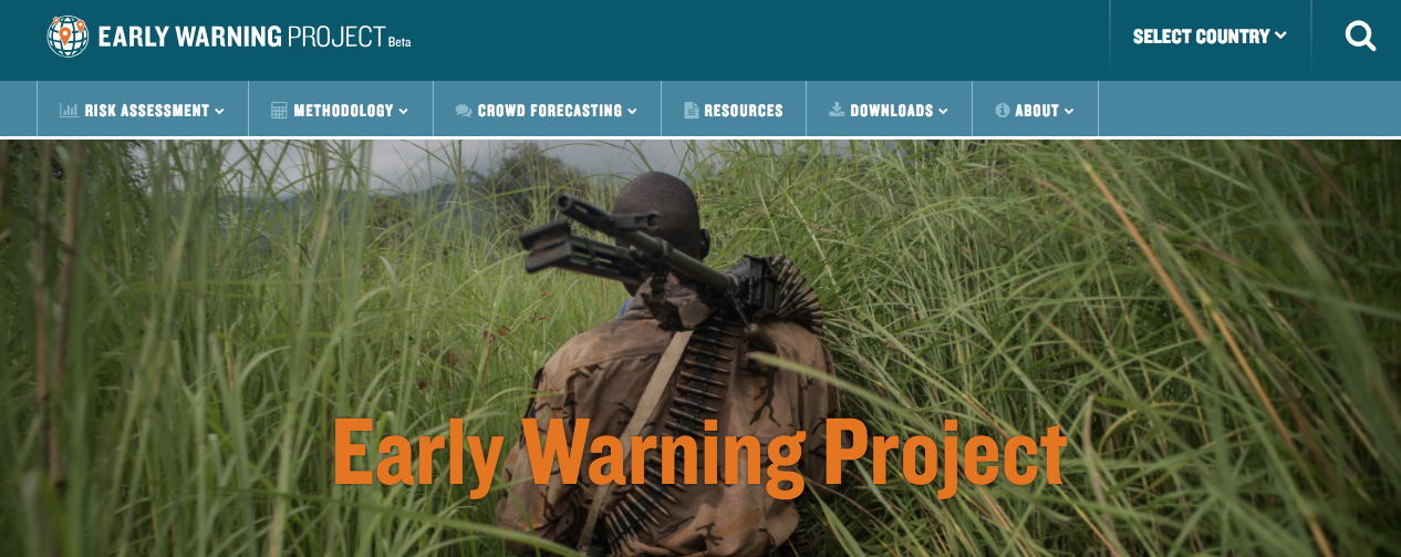 New Early Warning Project Website