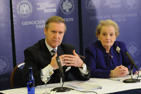 Secretary Cohen & Secretary Albright, December 8, 2008.