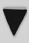 Unused black triangle concentration camp patch found by a US military aid worker