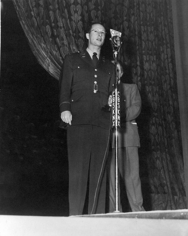 Norman Krasna wins Oscar for princess O'Rourke in 1943 Liberation of Buchenwald and Dachau