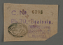 Ration coupon from the Kovno ghetto