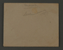Envelope used by an administrative department of the Kovno ghetto