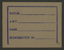 Ration card from the Kovno ghetto