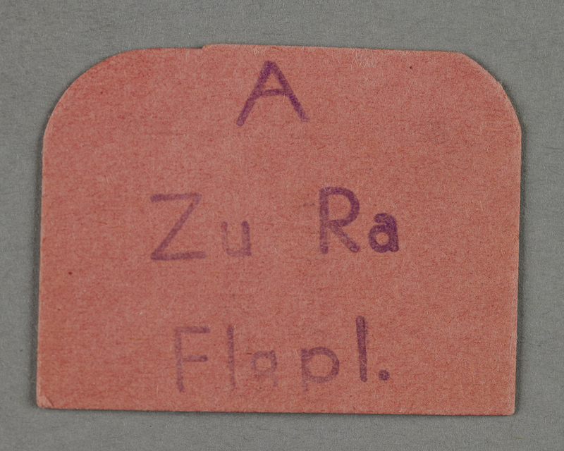 1995.89.200 front Ration coupon from the Kovno ghetto