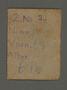 Identity document from the Kovno ghetto