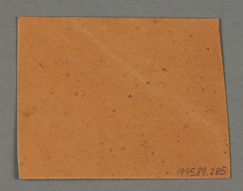 1995.89.285 back Work assignment slip from the Kovno ghetto
