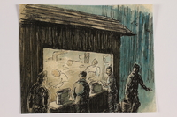 2012.483.17 front Ink sketch  Click to enlarge