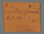 Work assignment slip from the Kovno ghetto issued to women