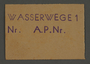 Work assignment slip from the Kovno ghetto for waterway [canal] construction