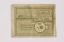 Mittelbau forced labor camp scrip, .10 Reichsmark, issued to a Czech Jewish prisoner