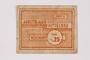 Mittelbau forced labor camp scrip, .25 Reichsmark, issued to a Czech Jewish prisoner