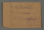 Earnings coupon issued by the Labor Office of the Kovno ghetto