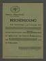 Transport certificate for the Kovno ghetto