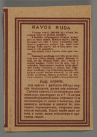 1995.89.493 back Health office diagnosis from the Kovno ghetto  Click to enlarge