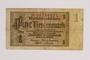 German 1 (Eine) Rentenmark note