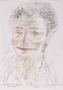 Sketch of Milka Szulstein by an unknown artist