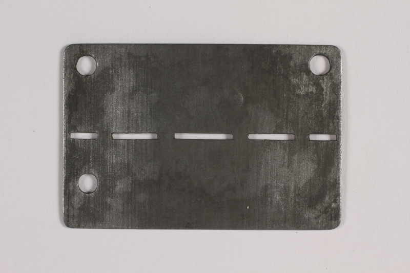 2014.427.5 back Prisoner ID tag issued to a Belgian soldier and former POW