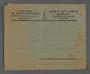 Envelope belonging to a Rabbi from Kovno