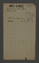 Food Ration Card for family in the Kovno ghetto