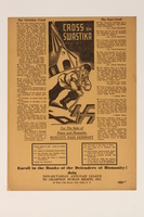 2014.456.1 front Flyer distributed in the US asking people to boycott products from Nazi Germany  Click to enlarge