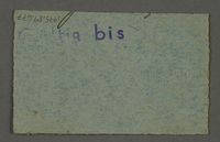 1995.89.677 back Work assignment slip from the Kovno ghetto  Click to enlarge
