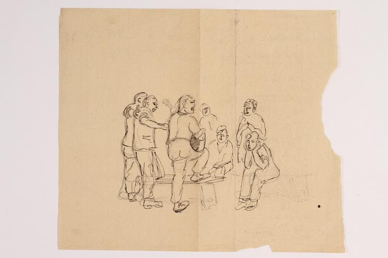 2012.483.23 front Ink sketch