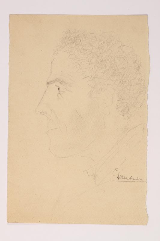 2012.483.29 front Pencil sketch