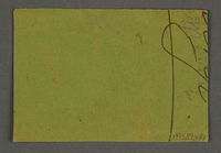 1995.89.681 back Work assignment slip for Woodcutting from the Kovno ghetto  Click to enlarge