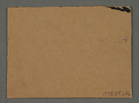 1995.89.686 back Work assignment slip from the Kovno ghetto  Click to enlarge
