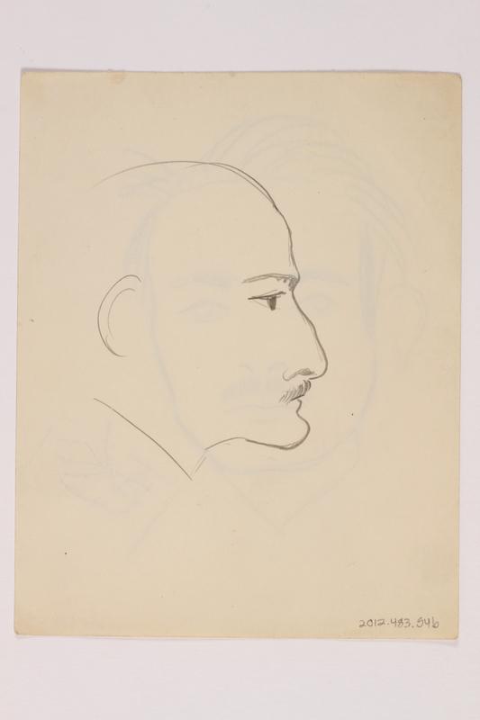 2012.483.54 b front Pencil sketch