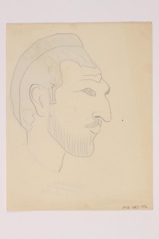 2012.483.57 b front Pencil sketch
