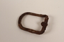 Metal buckle frame recovered from Chelmno killing center
