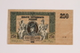 1918 bank note brought to the US by a Jewish family fleeing Nazi Germany