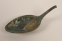 Metal tablespoon fragment recovered from Chelmno killing center