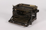 Underwood typewriter with Cyrillic keys used by an emigre Jewish lawyer and politician