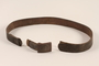 Wehrmacht M1936 belt and embossed buckle acquired by US soldier