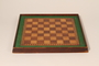 Chessboard handmade postwar by a liberated inmate