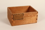 Box removed postwar from Gusen concentration camp in Austria