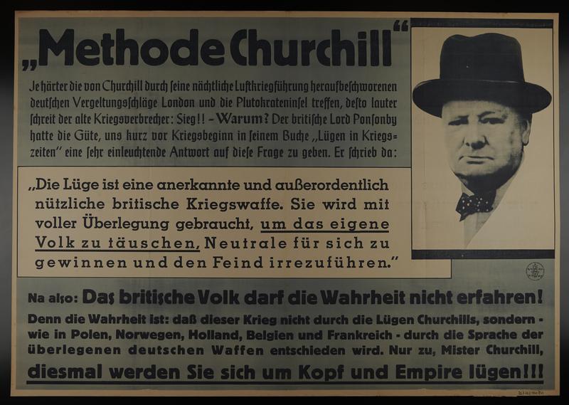 1995.96.10 front Nazi propaganda poster