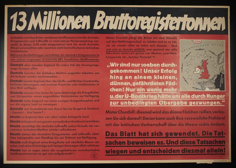 1995.96.101 front Nazi propaganda poster