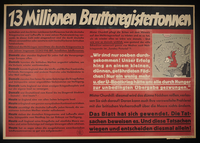 1995.96.101 front Nazi propaganda poster  Click to enlarge