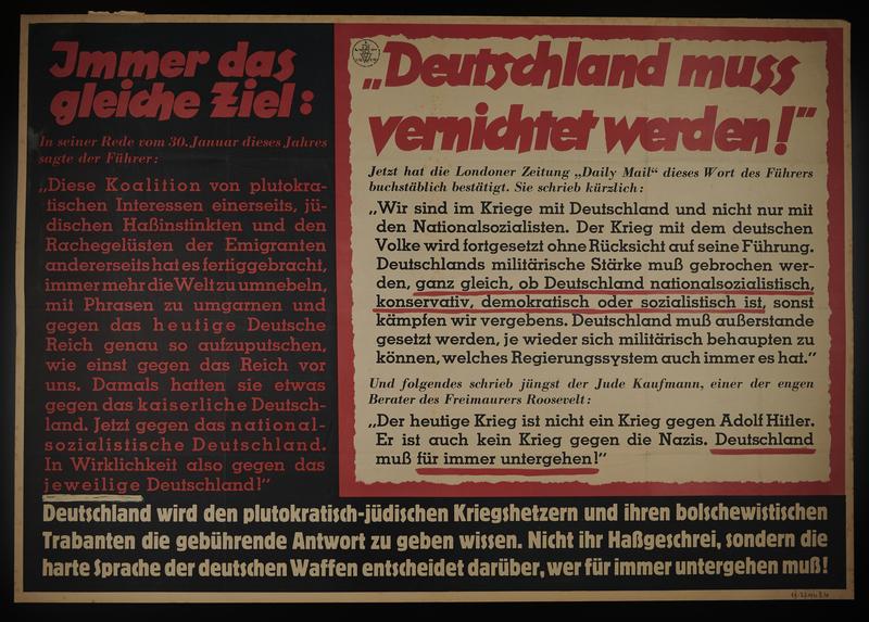 1995.96.102 front Nazi propaganda poster