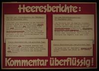 1995.96.103 front Nazi propaganda poster  Click to enlarge