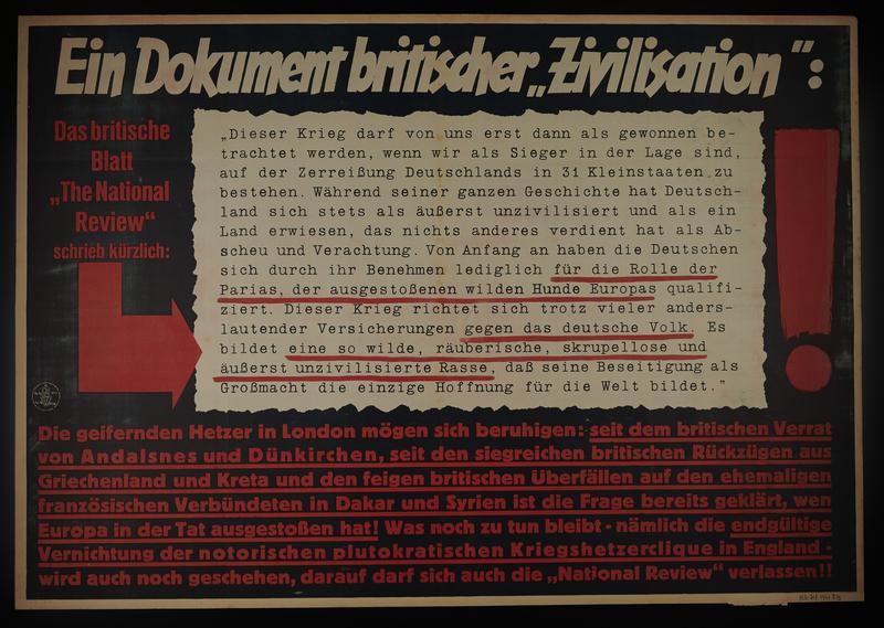 1995.96.104 front Nazi propaganda poster