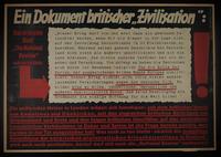 1995.96.104 front Nazi propaganda poster  Click to enlarge