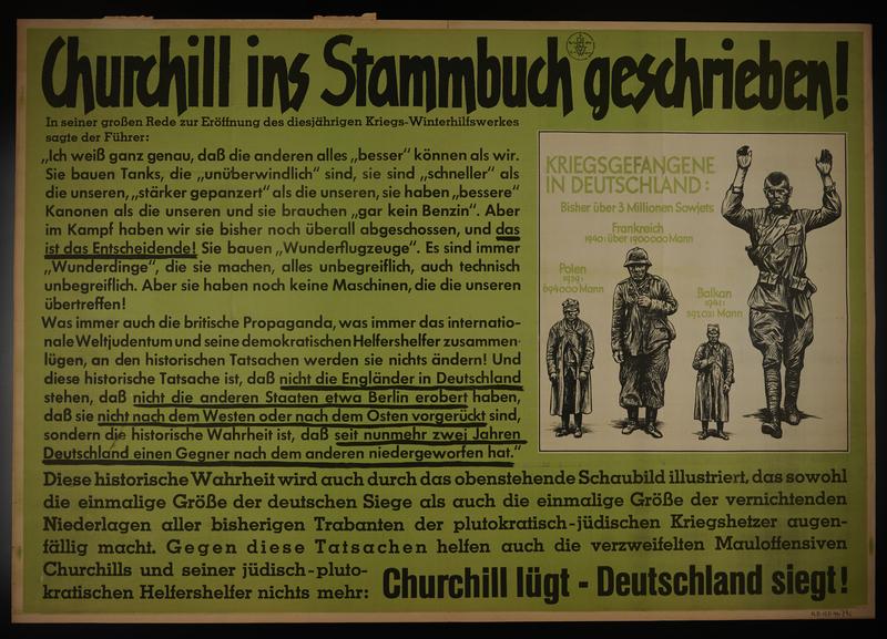 1995.96.108 front Nazi propaganda poster