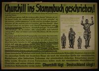 1995.96.108 front Nazi propaganda poster  Click to enlarge